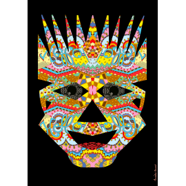 Picture book Expressions Impressions - Mask 6