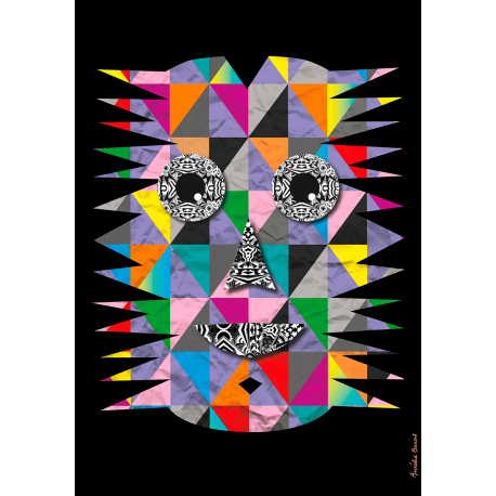 Picture book Expressions Impressions - Mask 7